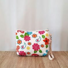 $17 Pouch sloopie handmade code PH004,  made from baby canvas layer cotton , 1 handle 15cm  size: 23cm x 3cm x 18cm  made for order  information: whatsapp +6287808276718  email: sloopie.made@gmail.com