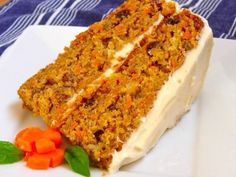 Receta de Delicioso Pastel de Zanahoria