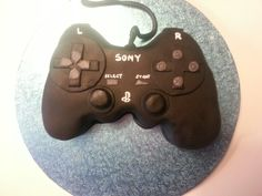 playstation control cake