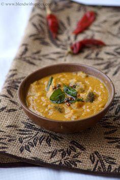 Kathirikai Rasavangi - Eggplants in Coconut and lentil sauce. South Indian Dish. blendwithspices.com
