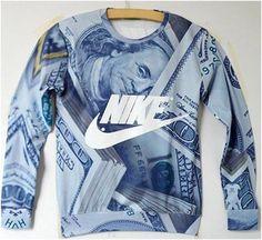 Epic Mob Clothing - Custom Nike Crewneck  RARE  Nike Outfits 3334215ba9b1