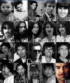 George through his years