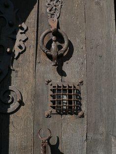 Door detail | France