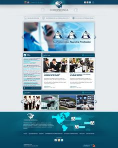 Look and feel Web by Rosmen Alvarez, via Behance Web Design, Behance, Feelings, Design Web, Website Designs, Site Design