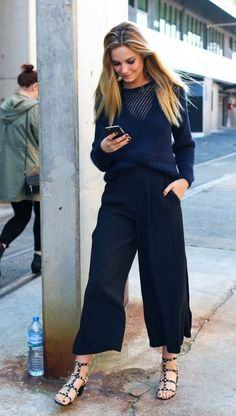 Bridget Malcolm and more of the best street style in Sydney during Australian fashion week.