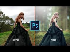 Photoshop CC Tutorial - Fantasy Sunset Color Effects Effects Photoshop, Photoshop Actions, Adobe Photoshop, Photoshop Overlays, Photoshop Tutorials Youtube, Ps Tutorials, Photo Editor App, Photoshop Website, Photoshop For Photographers