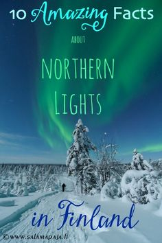 Whether people have travelled to Finland in order to experience Aurora Borealis or have seen them in photos or videos, Northern lights – as they're also referred to as – are spellbinding for …