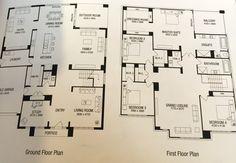 Our original draft) floor plans - Franklin 53 Master Suite Bedroom, Garage Bedroom, House Floor Plans, Flooring, How To Plan, Outdoor, Home Layouts, Home Plants, Outdoors