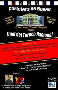 Final del Torneo Nacional Boxeo @ Aguada