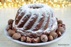 Guguluf pufos cu nucă și alune de pădure - cozonac în formă circulară   Savori Urbane Sweets Recipes, Desserts, Sweet Bread, Tiramisu, Good Food, Ethnic Recipes, Fruit Cakes, Bundt Cakes, Sweets