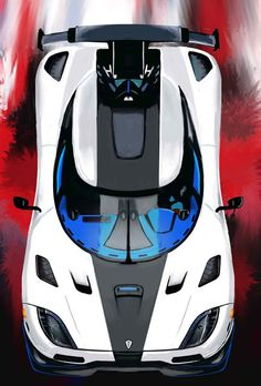 Koenigsegg Agera-R - Automotive artwork - Autos Jaguar Xk, Jaguar E Type, Koenigsegg, Exotic Sports Cars, Exotic Cars, Car Racer, Car Wallpapers, Sport Cars, Concept Cars