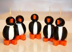 SO CUTE!!!    Penguin Appetizers