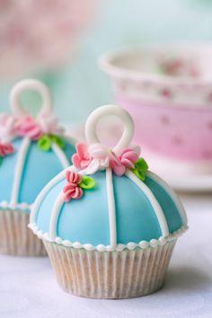 #Cupcakes wall mural for your #homedecor #art #artforsale #wallmurals #interiordecor #interiordecorideas #interiordecortips #homedesign #decor #sweets #cake #pastry #kitchendecor #blue