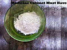The Yogi Mami: Medicine Cabinet Must Have Part 1: Healing Properties of Bentonite Clay