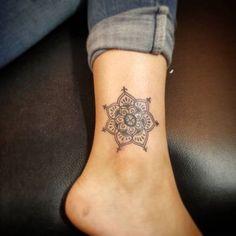 tatuagem tornozelo