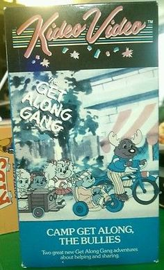 Get Along Gang, The - Camp Get Along/The Bullies (VHS, 1989)