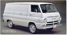 Dodge van a100. Best photos and information of modification.