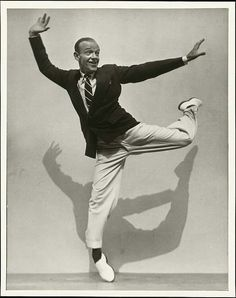 Fred Astaire photographed by Martin Munkacsi, 1936
