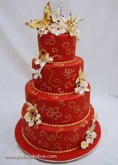 Butterfly Sweet 16 Cake » Sweet 16 Cakes