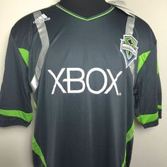 $40 SEATTLE SOUNDERS ADIDAS JERSEY 2011-2012 AWAY JERSEY MENS SIZE 2XL 48-50 NEW $80 #adidas