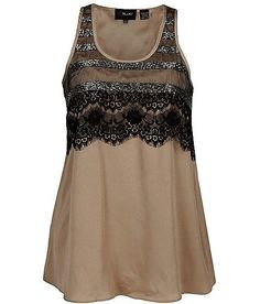 Miss Me Chiffon Tank Top by Buckle