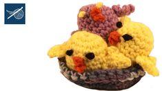 Amigurumi - Crochet Geek Peep -  Left Hand