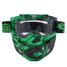 Fashion Motocross Goggles Glasses Helmet Mask Detachable Goggles And Mouth Filter for modular Open Face Moto Vintage Helmet Mask https://www.amazon.co.uk/dp/B073PW29BS?th=1
