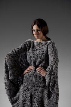 Wool School - Sofia Weingartner  - possibly nuno felt?