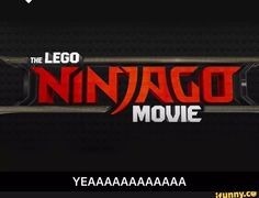 Lego Ninjago movie. Coming out 2017!! The voice actors will be different as will the animation- more in a Lego movie style