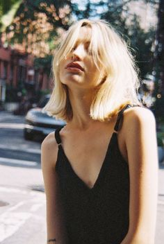 52 Sexy Long Bob Hairstyles You Should Try - Hairstyles Trends Long Bob Haircuts, Trendy Haircuts, Hairstyles Haircuts, Pixie Haircuts, Medium Hairstyles, Blonde Short Hairstyles, Pinterest Short Haircuts, Braided Hairstyles, Long Fringe Hairstyles