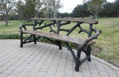 Faux Bois Garden Seat, houzz.com