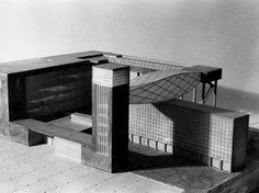 Steven Holl  American Memorial Library, Berlin, Germany, 1988.