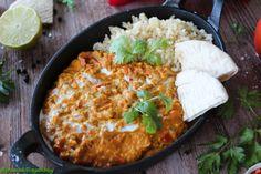 Vöröslencse curry - GreenChili-Vegan Blog Vegan Blogs, Paella, Curry, Ethnic Recipes, Food, Curries, Essen, Meals, Yemek