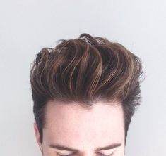 Balayage, Men's hair, men's hairstyles, men's hair colour, blonde, natural highlights.