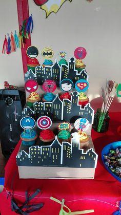 Decoración para los Cupcakes