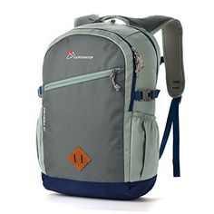 Amazon.com : Mountaintop Outdoor Backpack Hiking Camping Daypack Schoolbag 22L Koala Grey : Sports & Outdoors