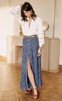 Looks Hippie, Blue Jeans, Style Parisienne, Look Boho, Moda Casual, Parisian Style, Fashion Outfits, Womens Fashion, Fashion Ideas