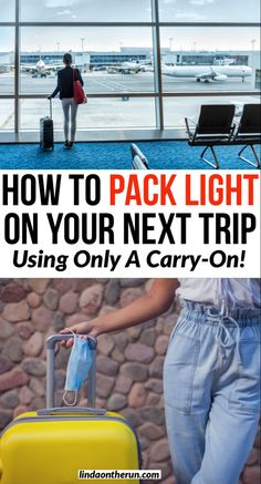 Planning to travel soon? Whether flying or road tripping it is always smart to pack light. Here are 10 important tips on how to pack lightly using only a carry-on bag| Packing light for your next trip #packing #travel #flying #roadtrip Solo Travel Tips, Packing List For Travel, Packing Lists, Travel Advice, Travel Guides, South America Travel, North America, European Travel Tips, Pack Light
