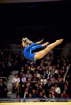 My childhood heroine, Olga Korbut. Read how she inspired me to do the next big thing in my life.