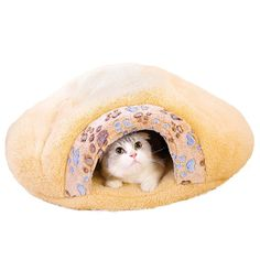 Sikye Coral Cashmere Pet Bed Soft Warm Dog Cat Kitten Cave House Cozy Sleeping Bag Machine Size x 50 x Brown) *** Learn more by visiting the image link. (This is an affiliate link) Sleeping Puppies, Cat Sleeping, Cat Paws, Dog Cat, Cheap Cat Beds, Canis, Dog Playpen, Cat Paw Print, Warm Blankets
