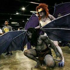 Gargoyles Cosplay: Stone Cold Stunning Demona and Goliath — GeekTyrant