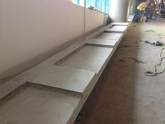 Commercial and Industrial Concrete projects by Avante Concrete, a commercial concrete contractor with over 40 years experience Concrete Contractor, Concrete Projects, Vancouver, Tile Floor, Commercial, Stairs, Flooring, Home Decor, Ladders