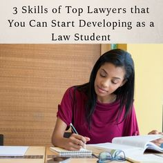 3 Skills of Top Lawyers that You Can Start Developing as a Law Student - The Girl's Guide to Law School® - Full Eng Skills To Learn, Study Skills, Study Tips, Student Studying, Student Life, Law Student Quotes, Law School Memes, Law Notes, Lawyer Quotes