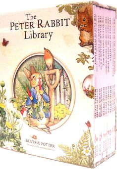 THE PETER RABBIT LIBRARY by Beatrix Potter 10 Book Boxed Set NEW