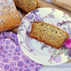 LAVENDER BANANA BREAD. stop. I cant take all these floral recipes