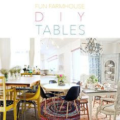 Oh I really think you are going to love today's collection. I have had many requests to put together a collection of some Fun Farmhouse DIY Tables and here it is filled with some true Farmhouse Fabulousness! Each table comes with a direct link to the wonderful blog that holds the tutorial. I do believe …
