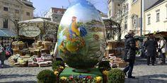 Viena, montaña gigante de huevos de Pascua - http://www.absolutaustria.com/viena-montana-gigante-de-huevos-de-pascua/