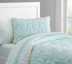Paisley Wholecloth Quilted Bedding