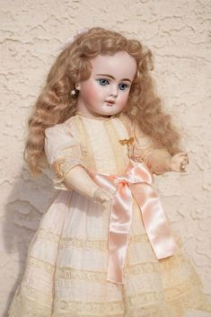 Adorable Bahr & Proschild 224 Antique German Child - ALL ORIGINAL/ALL from doll-heaven on Ruby Lane