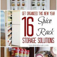 Spice Rack Storage Solutions